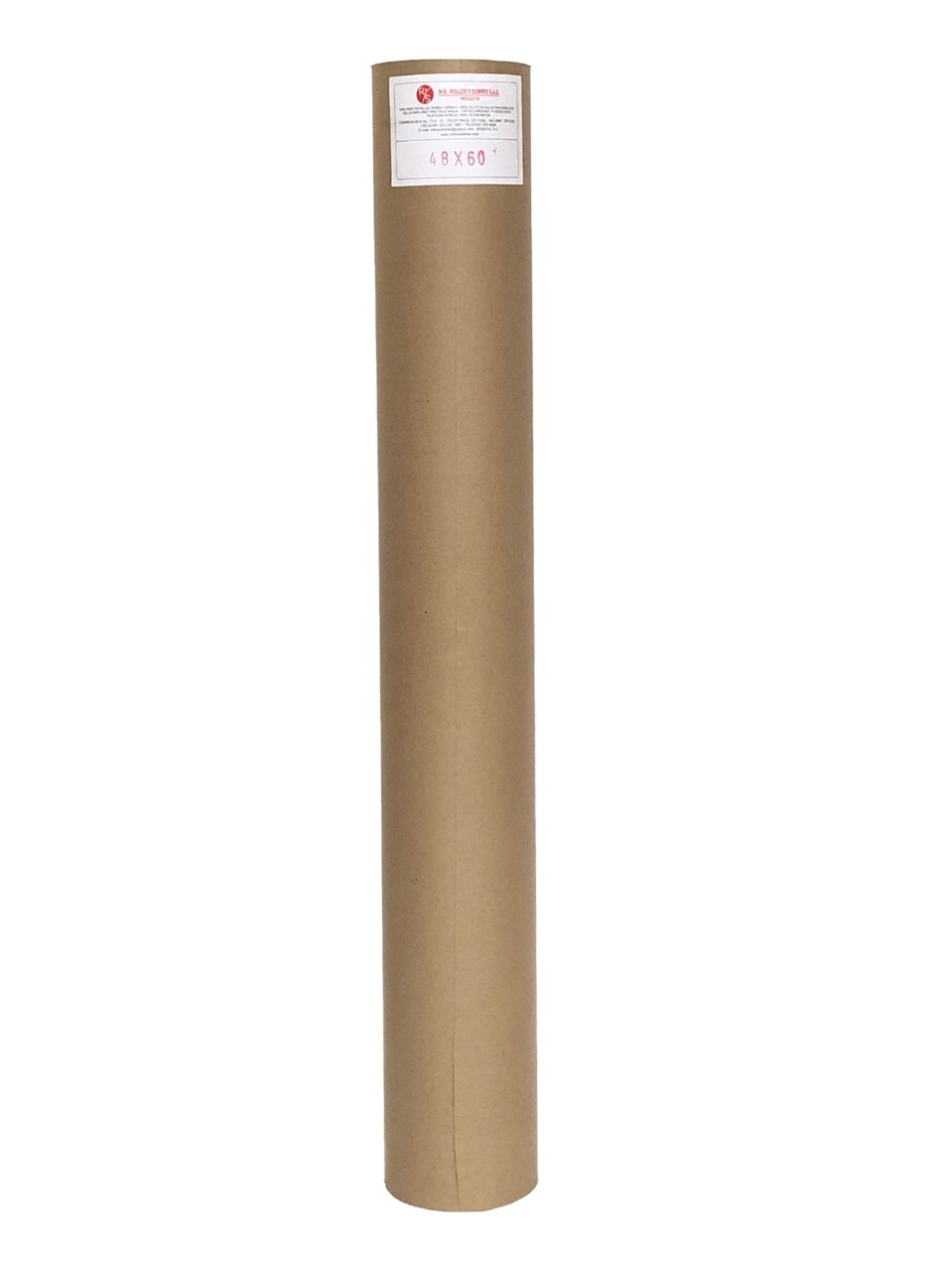 "papel Kraft 48"" (122 cm)"