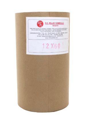 """Rollo de papel Kraft en alto 12"""" (30 cm)"""