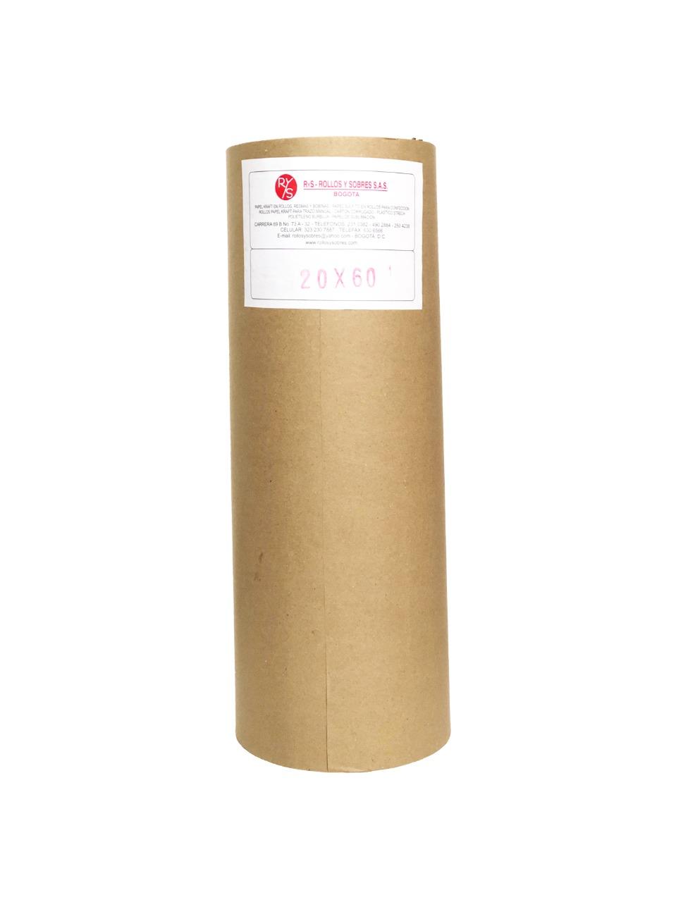 rollos de papel kraft