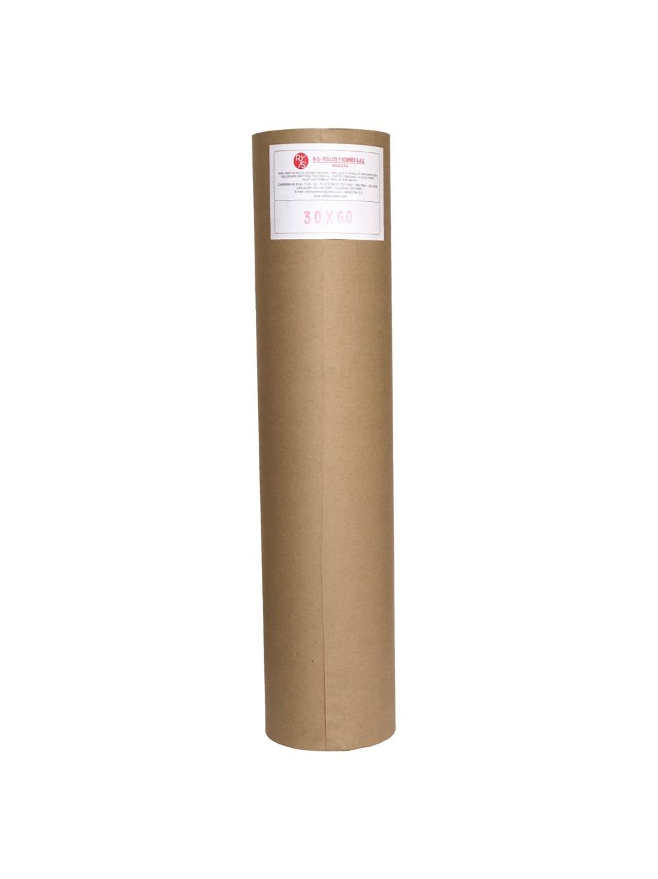 rollos papel kraft 30gr